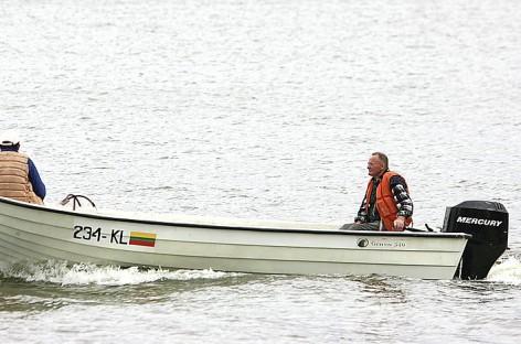 Techninė valčių apžiūra – peilis žvejams