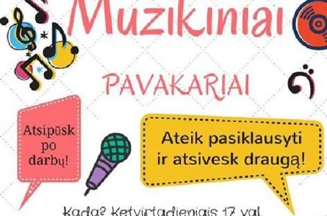 """Varėnoje nuskambėjo """"Muzikiniai pavakariai"""""""