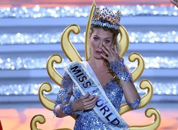 """Kinijoje naująja """"Mis Pasaulis"""" tituluota europietė"""