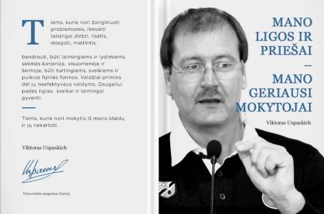 Viktoras Uspaskich išleidžia savo pirmąją knygą