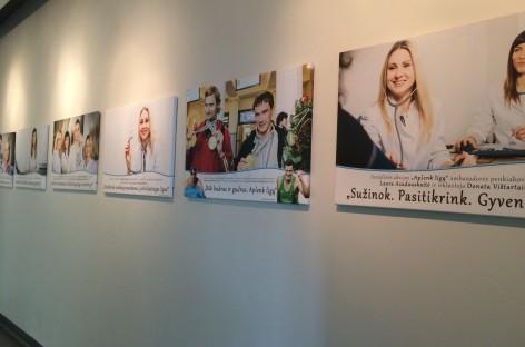 """Fotografijų paroda """"Aplenk ligą"""" tęs kelionę per Vilniaus ir Alytaus apskritis"""