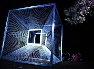 """Dzūkijos miškuose vykstantis festivalis """"Yaga Gathering 2016"""" ketvirtadienio vakarą tradiciškai prasidėjo teatralizuotu pasirodymu"""