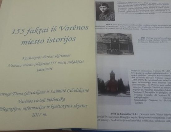 155 faktai iš Varėnos miesto istorijos