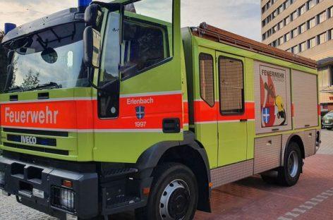 Varėnos rajono savivaldybės priešgaisrinės apsaugos tarnyba įsigijo gaisrinį automobilį
